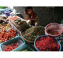 Market - Spice Photographic Print