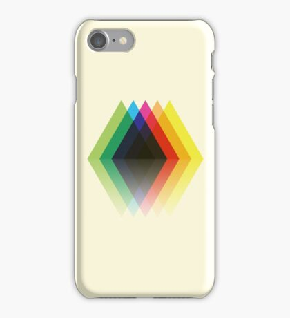 Colored Rhombic Mountains iPhone Case/Skin