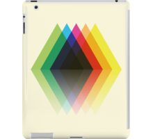 Colored Rhombic Mountains iPad Case/Skin