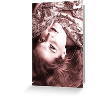 Francesca in daylight Greeting Card