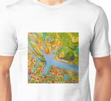 imaginary map of Turin Unisex T-Shirt
