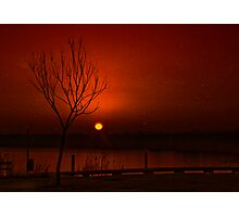 Kitschy sunrise Photographic Print