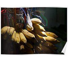 Market - Bananas Poster