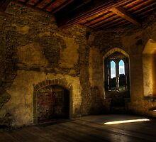 Stokesay Castle Tower Room by Alan E Taylor