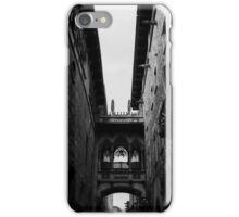 Barcelona - The Gothic Quarter  iPhone Case/Skin