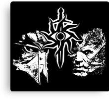 Dragon Age Inquisition Face Off Canvas Print