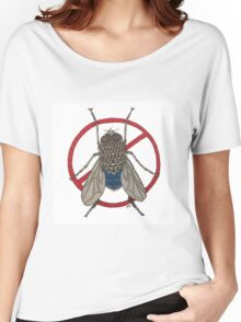 Blue Arse Fly Women's Relaxed Fit T-Shirt
