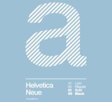 a .... Helvetica Neue Kids Clothes