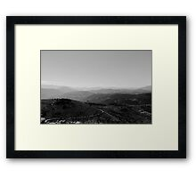 Path to Earth - Italian Landscape  Framed Print