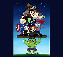 The Avenging Guardians of the Galaxy by Sugarsop
