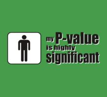My P-Value is Highly Significant Kids Clothes
