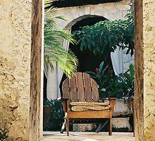 Chair in the door by julie08