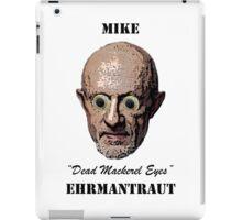 Dead Mackerel Eyes iPad Case/Skin