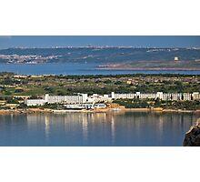 Mellieha Bay Hotel Photographic Print