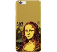 Mona Lisa Pixelated 8bit iPhone Case/Skin