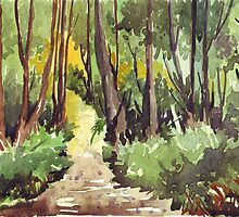 Forest path by Maree  Clarkson