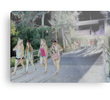 'The Magnificent Four' Metal Print