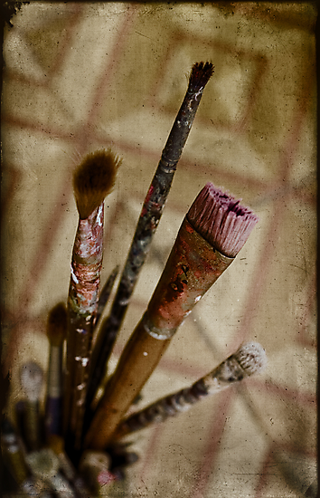 tools of painter by Victor Bezrukov