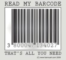 Read My Barcode by hannu