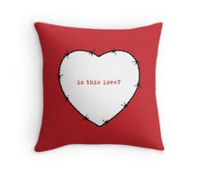 Love Hurts Throw Pillow