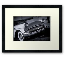 A big old Buick. Framed Print