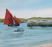 aughris harbour by cathal  o malley