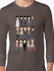 johns and sherlocks and moriarties Long Sleeve T-Shirt