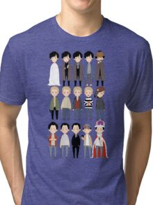 johns and sherlocks and moriarties Tri-blend T-Shirt