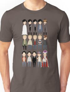 johns and sherlocks and moriarties Unisex T-Shirt