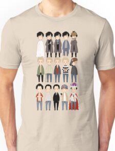 johns and sherlocks and moriarties Unisex T-Shirt