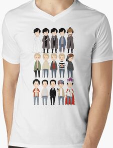 johns and sherlocks and moriarties Mens V-Neck T-Shirt