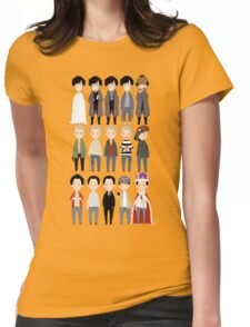 johns and sherlocks and moriarties Womens Fitted T-Shirt