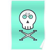 Rider Skull Poster