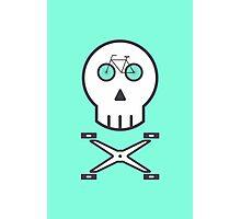 Rider Skull Photographic Print