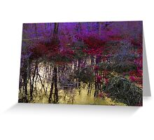 Beautiful Beasts and Champagne Rivers Greeting Card