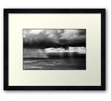 Kalahari rain Framed Print