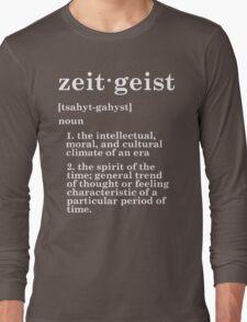Zeitgeist Long Sleeve T-Shirt