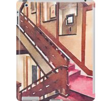 Wooden Staircase at a Japanese-style Inn iPad Case/Skin