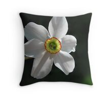 Lonely Blossom Throw Pillow