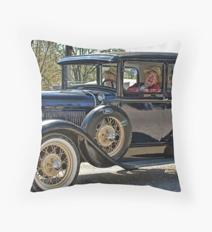Good On Gas Throw Pillow