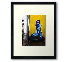 Jess Framed Print