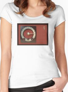 Vintage Sounds I Women's Fitted Scoop T-Shirt