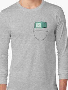 BMO Pocket - Adventure Time Long Sleeve T-Shirt