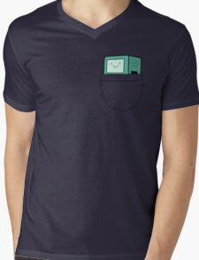 BMO Pocket - Adventure Time Mens V-Neck T-Shirt