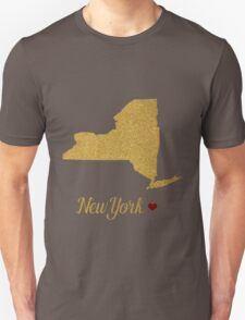 New York state map T-Shirt
