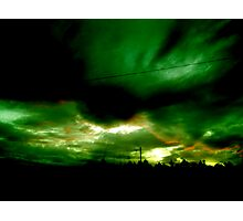 Alien Invasion Photographic Print