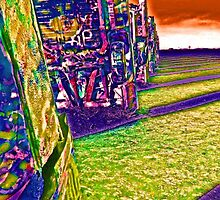 Cadillac Ranch by EmKaG