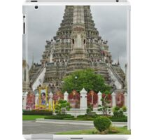 Temple in Bangkok at Ground Level iPad Case/Skin