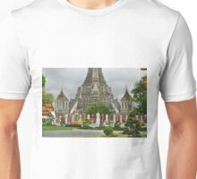Temple in Bangkok at Ground Level Unisex T-Shirt