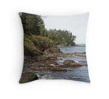 """Coastline"" Throw Pillow"